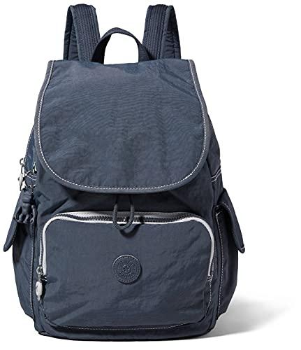 Kipling Damen City Pack Rucksack Handtasche, Grauer Schiefer, One Size
