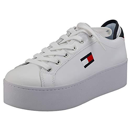 Tommy Hilfiger Damen Roxie 21a Sneaker, Weiß (RWB 0k5), 40 EU