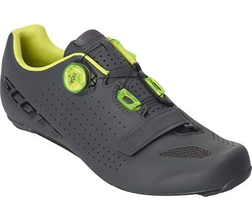 Scott Road Vertec Boa Rennrad Fahrrad Schuhe grau/gelb 2020: Größe: 43