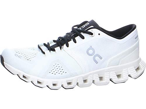 On Running W Cloud X Weiß, Laufschuh, Größe EU 40.5 - Farbe White - Black