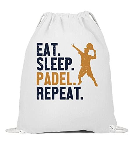 Padel Padel Tennis Padel-Tennis Turnbeutel | Eat Sleep Padel Repeat Gymsac