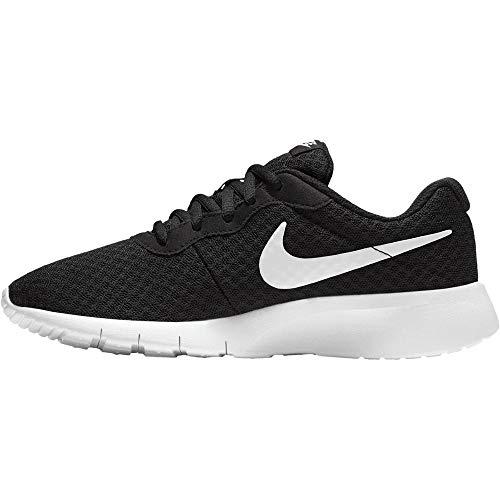 Nike Unisex Kinder Tanjun (Gs) Laufschuhe, Schwarz (Black/White-White), 38.5 EU