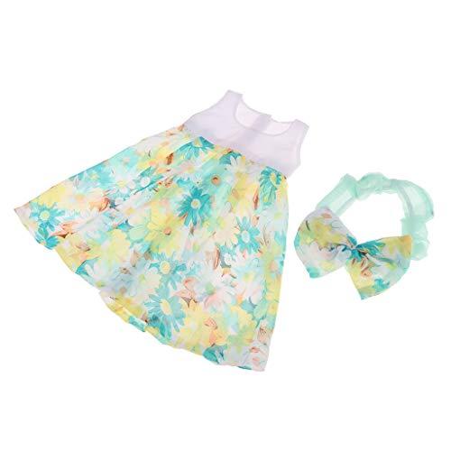 FLAMEER Handgemachte Puppen Sommer Nachthemd Nachtwäsche Outfit für 1/3 BJD Puppe - # 3