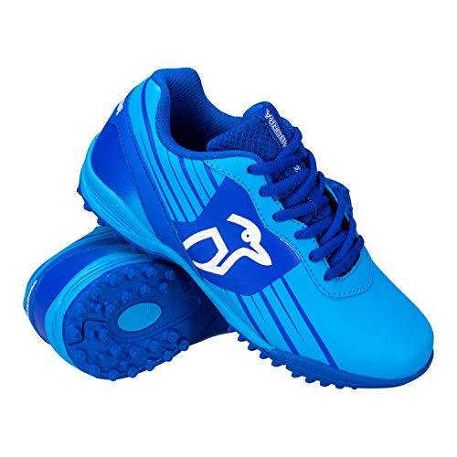 Kookaburra Unisex-Hockeyschuhe, Neonblau, für Jugendliche, Jungen, blau, 4 UK