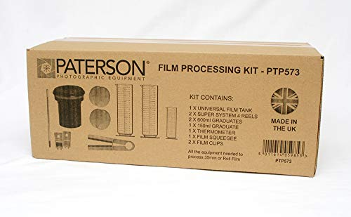Paterson Filmverarbeitungskit: