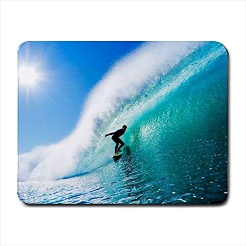 Gehen Sie Surfen Mousepad (Neopren rutschfeste Mousemat)