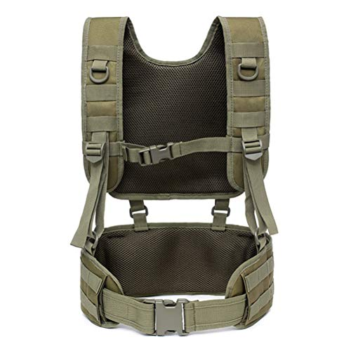 Macabolo Multifunctional Men Military Trainning Tactical Vest Outdoor Airsoft Paintball Vest Hiking Camping Molle Police Vest