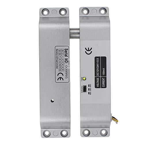 Elektrisches Schloss Drop Bolt Lock mit Zeitverzögerung DC 12V Fail Safe mit Zeitverzögerung für das Türzugangskontrollsystem