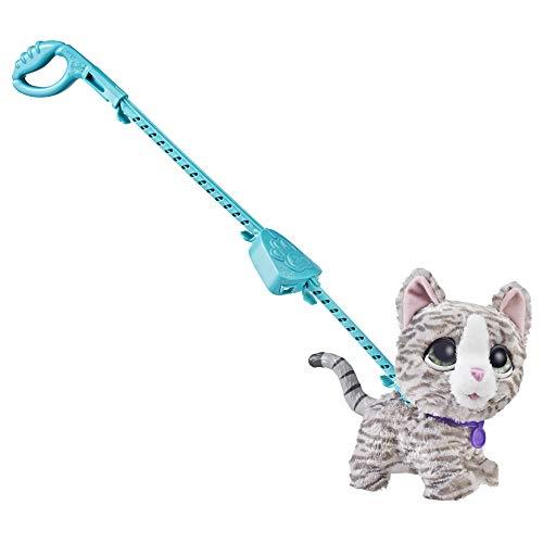 Hasbro Großer Racker Lucky, niedliche Katze für tollen Gassi-Spaß