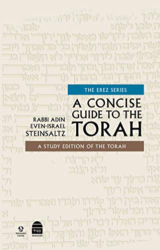 A Concise Guide to the Torah: A Study Edition of the Torah (The Erez Series) (English Edition)