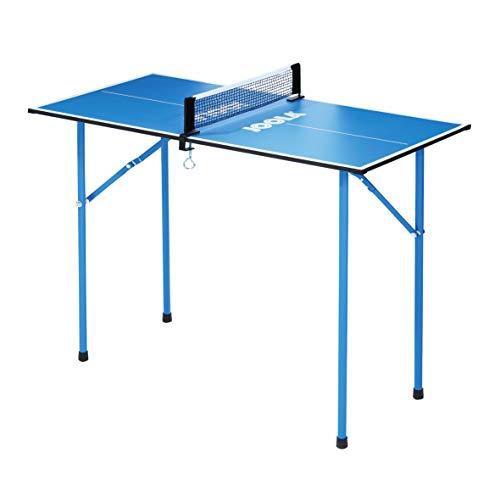 JOOLA 19100 Tischtennisplatte TT-Tisch Mini Tischtennistisch, Blue, one size