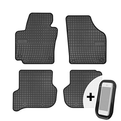 Gummimatten Auto Fußmatten Gummi Automatten Passgenau 4-teilig Set - passend für VW Golf Plus 2005-2014