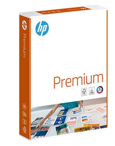 HP Kopierpapier Premium Chp 851: 80 g/m², A4, 250 Blatt, extraglatt, weiß - Intensive Farben, Scharfes Schriftbild