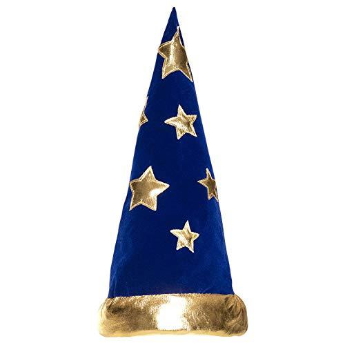 Boland 04228 - Hut Wizard, Zauberer, Magier, Hexe, Kopfbedeckung, Karneval, Kostüm, Mottoparty