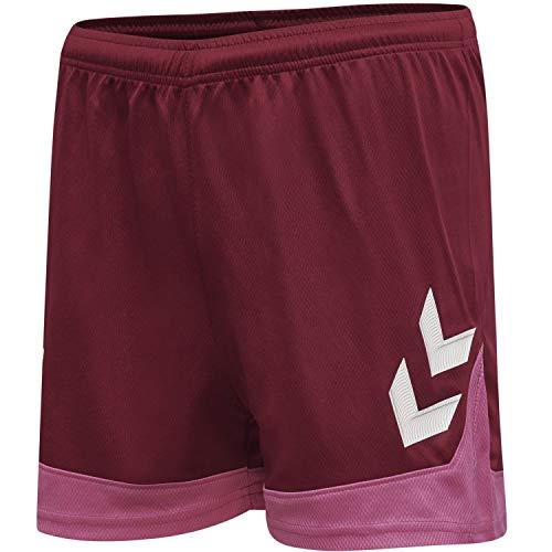 Hummel Hmllead Womens Poly Shorts - biking red