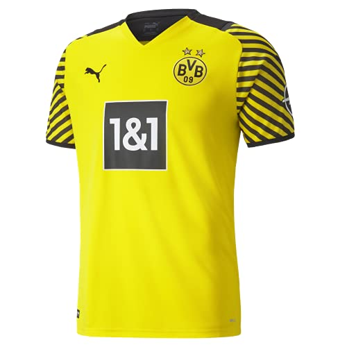 Puma Borussia Dortmund Saison 2021/22 Training, GameKit Home Game-Kit, Cyber Yellow Black, L