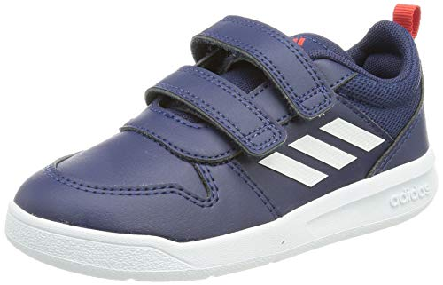 adidas Tensaur Running Shoe, Dark Blue/Cloud White/Active Red, 31 EU