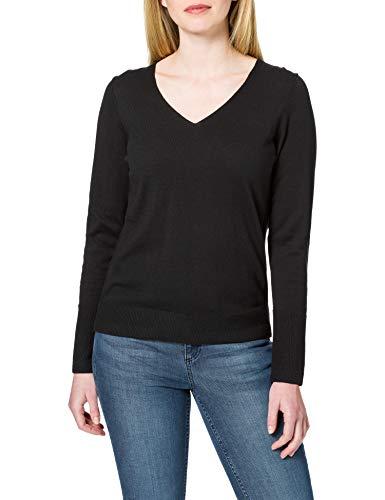 ESPRIT Damen 990EE1I316 Pullover, 001/BLACK, XL