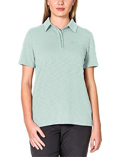 Jack Wolfskin Damen Shirt Travel Polo 2 W, Fresh Breeze, S