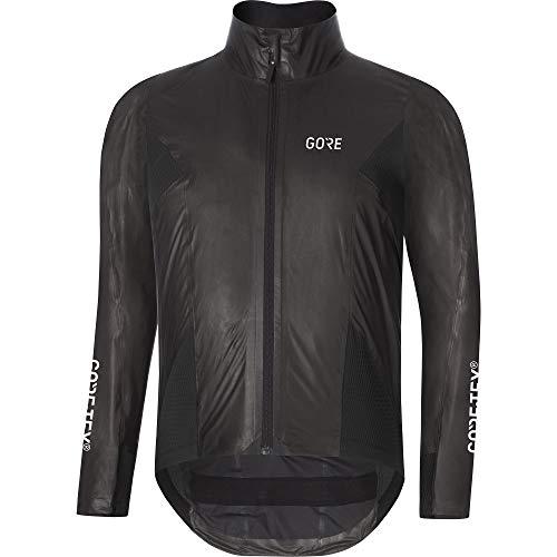 GORE Wear C7 Herren Rennrad-Jacke GORE-TEX SHAKEDRY , S, Schwarz