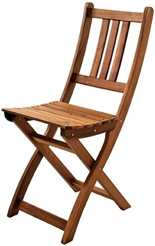 SAM Gartenstuhl Blossom | Sitzmöglichkeit aus Akazien-Holz | massiver Klappstuhl