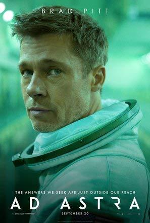 AD Astra – Brad Pitt – Film Poster Plakat Drucken Bild - 43.2 x 60.7cm Größe Grösse Filmplakat
