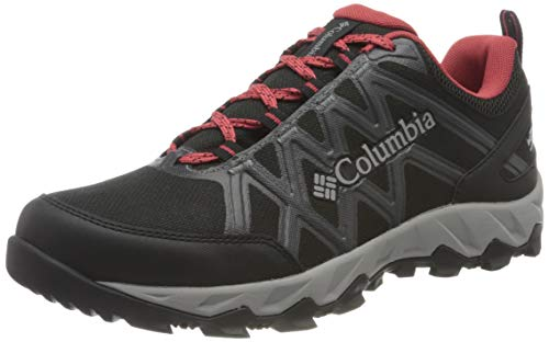 Columbia Damen PEAKFREAK X2 OutDry Wanderschuhe, Schwarz, Rosa (Black, Daredevil), 37