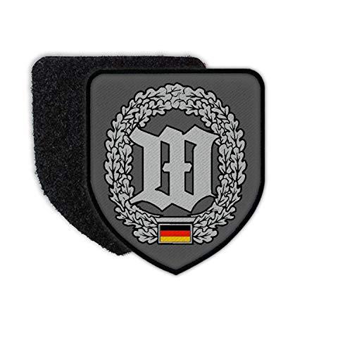 Copytec Patch Barettabzeichen Wachbataillon Einheit Bundeswehr #31087