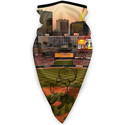 BJAMAJ St. Louis Ballpark Outdoor Gesichtsmaske Mundmaske winddicht Sportmaske Skimaske Schal Bandana Herren Damen