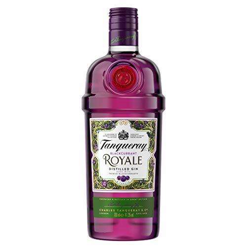 Tanqueray Blackcurrant Royale Distilled Gin – Ideale Spirituose für Cocktails, Gin Tonic oder als Geschenk – 1 x 0,7l