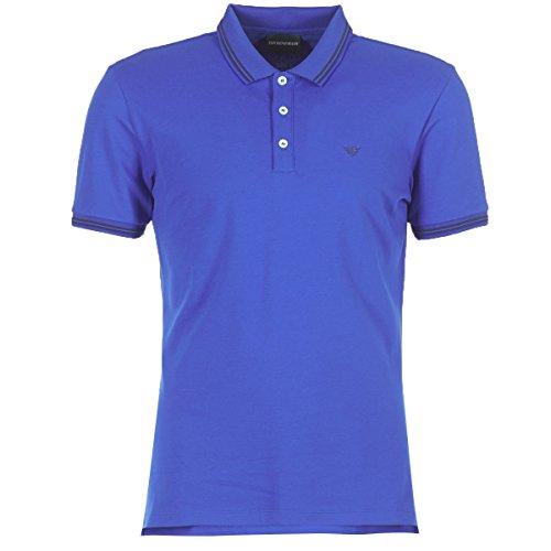 Emporio Armani TAMWU T-Shirts & Poloshirts Herren Blau - XXL - Polohemden