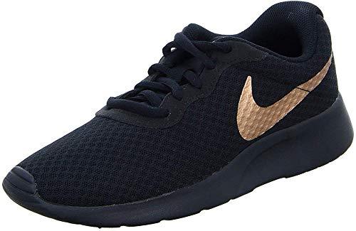 Nike Damen WMNS Tanjun Leichtathletikschuhe, Schwarz (Black/MTLC Red Bronze 005), 39 EU