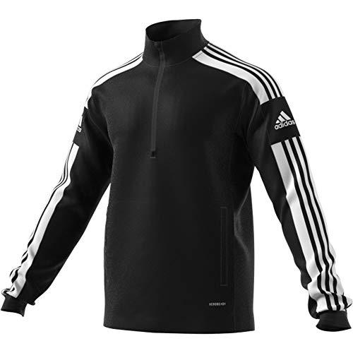 adidas Herren Squadra21 Trainingsjacke, Schwarz/Weiß, M EU