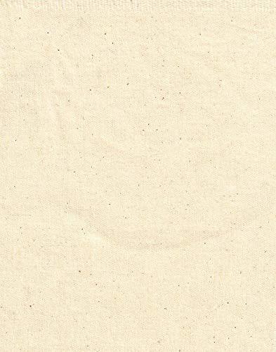 100% Natürlich Ungebleicht Baumwolle Leinen Stoff Zum Nähen pro Meter 150CM Breite - 1M