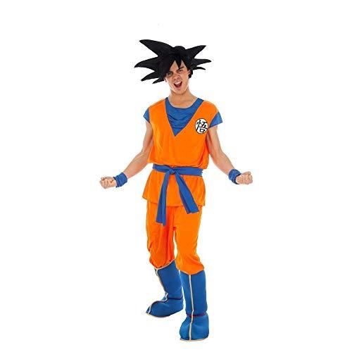 Generique - Son Goku-Kostüm Dragonball Z-Kostüm orange - M