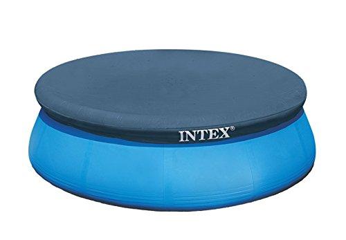 Intex Poolabdeckplane für runde Quick-up-Pools (Easy Set), dunkelblau, Ø 305 cm