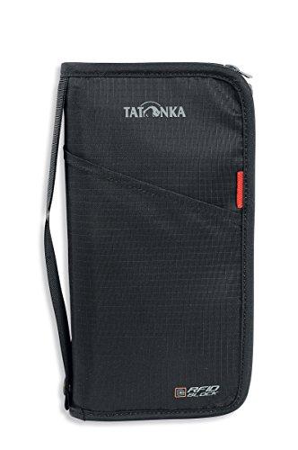Tatonka Geldaufbewahrung Travel Zip RFID B, Black, L (23 x 13 x 3 cm)
