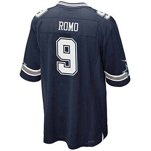 Dallas Cowboys NFL Herren Tony ROMO Nike Trikot, Herren, ROMO Nike Navy Game Jersey, Game Navy, Small