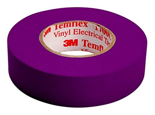 3M TVIO1510 Temflex 1500 Vinyl Elektro-Isolierband, 15 mm x 10 m, 0,15 mm, Lila