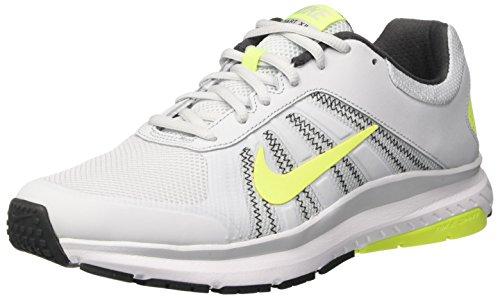 Nike Herren Dart 12 Laufschuhe, Elfenbein (Pure Platinum/Volt/Anthracite/White), 41 EU