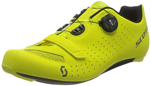 Scott Herren CARRETERA COMP BOA Sneaker, MATT Sulphur Yellow/Black, 43 EU