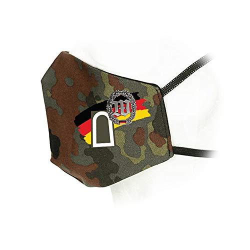 Copytec Flecktarn Maske Wachbataillon BMVg Tarnmuster Flecktarn Parade Bundeswehr #35941