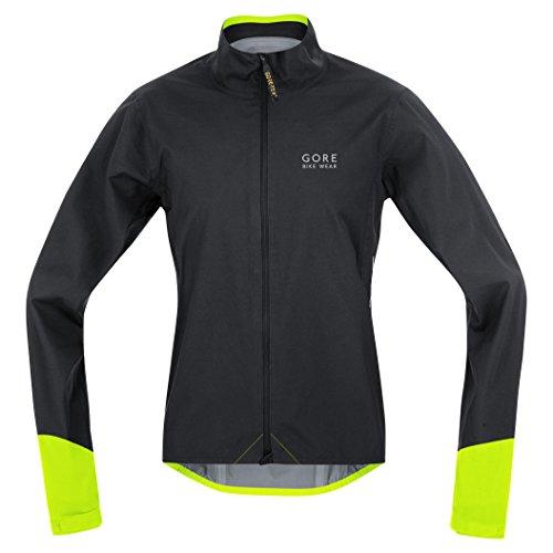 Gore Bike WEAR Herren Rennrad-Jacke, Super Leicht, Gore-TEX Active, Power GT AS Jacket, Größe: S, Hellblau/Schwarz, JGPOWR