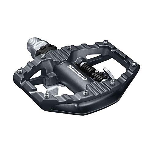 SHIMANO Unisex– Erwachsene Fahrradpedale-2091881300 Fahrradpedale, Schwarz, Einheitsgröße