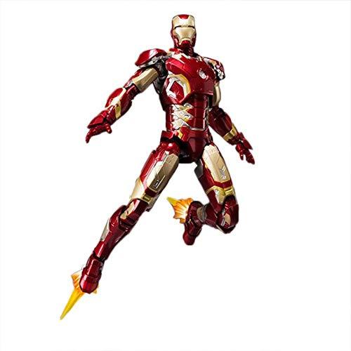 Decddae Marvel SHF Iron Man 2 Zeichentrick-Modell Iron Man MK43