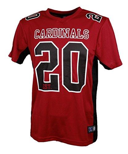 Fanatics Arizona Cardinals T-Shirt NFL Fanshirt Jersey American Football Rot - L