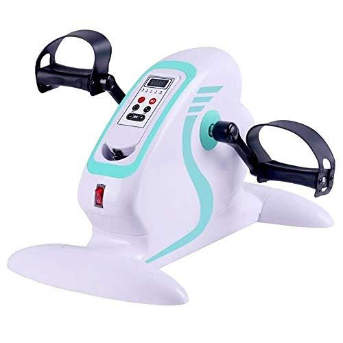 JHKGY Eignung Motorisierte Elektrische Mini-Heimtrainer/Pedal Exerciser,Tragbarer Fahrrad-Arm- Und Beintrainer Mit LCD-Display Kalorienzähler