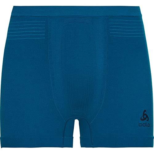 Oldo Herren SUW Bottom Boxer PERFORMANCE LIGHT, mykonos blue - horizon blue, L