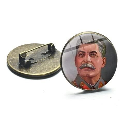Retro Brosche Hammer Zeichen Armee Symbol Abzeichen für Männer Mantel Anzug Metall Pins