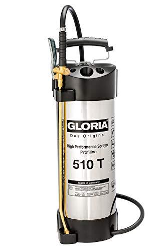 GLORIA Hochleistungssprühgerät 510TProfi, Edelstahl, 10L, 6 bar u. Ölfest